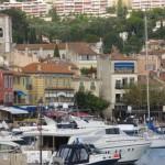 vue de l'appartement depuis le port