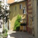 Rue piétonne à Cassis
